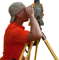 a land surveyor